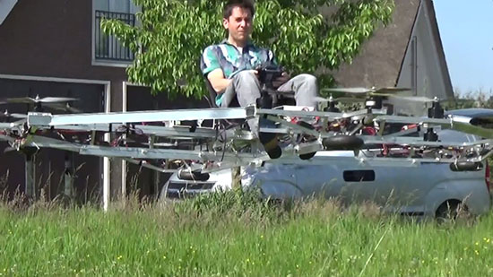The flying car has arrived and it looks scary as hell 1